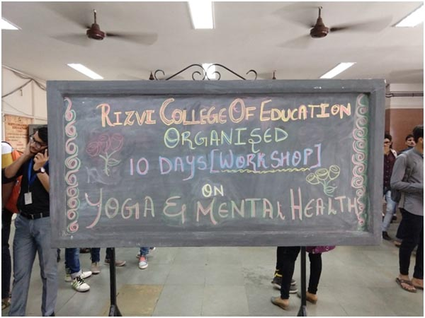 10 Day Workshop on Yoga and Mental Health