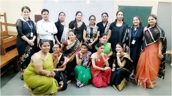 West Group of performers with Staff and Principal madam