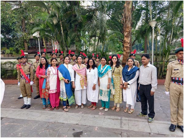 Faculties of RCOED with NSS Cadet Corps