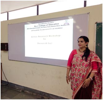 Dr. Priyanka Pandey conducting a workshop on AR