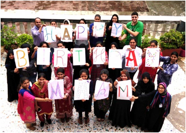 Birthday wishes from the Student Teachers of RCoEd